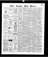 Acton Free Press (Acton, ON), December 2, 1915