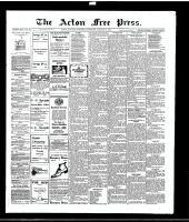 Acton Free Press (Acton, ON), January 6, 1916