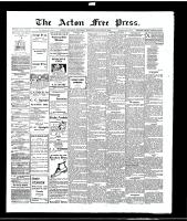 Acton Free Press (Acton, ON), January 20, 1916