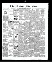 Acton Free Press (Acton, ON), January 27, 1916