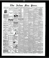 Acton Free Press (Acton, ON), February 3, 1916