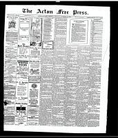 Acton Free Press (Acton, ON), November 30, 1916