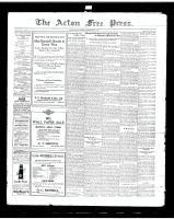 Acton Free Press (Acton, ON), May 1, 1919