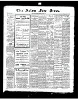 Acton Free Press (Acton, ON), August 7, 1919