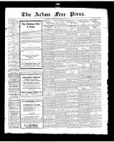 Acton Free Press (Acton, ON)11 Dec 1919