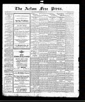 Acton Free Press (Acton, ON)15 Apr 1920