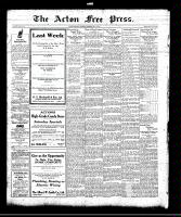 Acton Free Press (Acton, ON), July 29, 1920