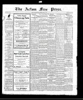 Acton Free Press (Acton, ON), August 12, 1920