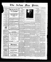 Acton Free Press (Acton, ON), September 23, 1920