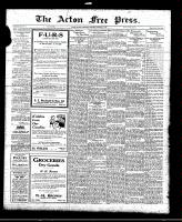 Acton Free Press (Acton, ON), October 21, 1920