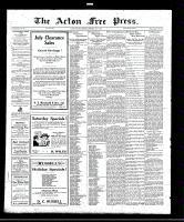 Acton Free Press (Acton, ON), July 7, 1921