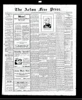 Acton Free Press (Acton, ON), August 25, 1921