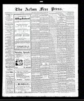 Acton Free Press (Acton, ON), September 1, 1921