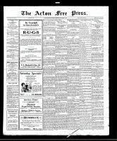 Acton Free Press (Acton, ON), September 8, 1921