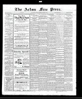 Acton Free Press (Acton, ON), September 29, 1921