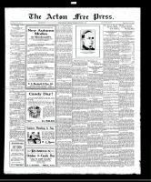 Acton Free Press (Acton, ON), October 6, 1921