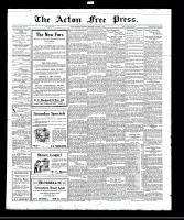 Acton Free Press (Acton, ON), October 13, 1921