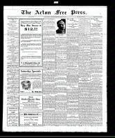 Acton Free Press (Acton, ON), October 20, 1921