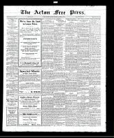 Acton Free Press (Acton, ON), October 27, 1921