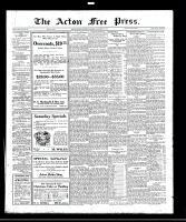 Acton Free Press (Acton, ON), November 24, 1921