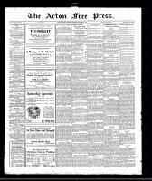 Acton Free Press (Acton, ON), December 1, 1921