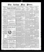 Acton Free Press (Acton, ON), December 8, 1921