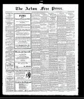 Acton Free Press (Acton, ON), January 19, 1922