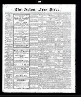 Acton Free Press (Acton, ON), April 27, 1922