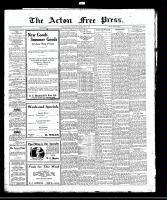 Acton Free Press (Acton, ON), June 1, 1922