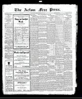 Acton Free Press (Acton, ON), June 22, 1922