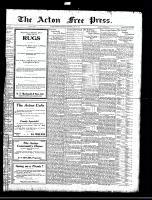 Acton Free Press (Acton, ON), June 29, 1922