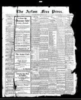 Acton Free Press (Acton, ON), July 20, 1922