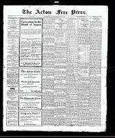 Acton Free Press (Acton, ON), August 3, 1922