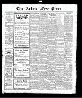 Acton Free Press (Acton, ON), August 10, 1922