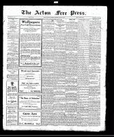 Acton Free Press (Acton, ON), August 17, 1922