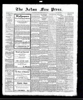 Acton Free Press (Acton, ON), August 24, 1922