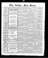 Acton Free Press (Acton, ON), September 7, 1922