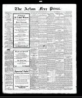 Acton Free Press (Acton, ON), October 26, 1922