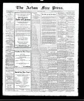 Acton Free Press (Acton, ON)28 Dec 1922