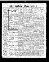 Acton Free Press (Acton, ON)11 Jan 1923