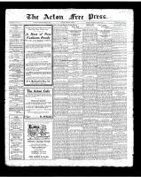 Acton Free Press (Acton, ON)8 Mar 1923
