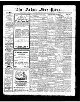 Acton Free Press (Acton, ON)31 May 1923