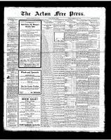 Acton Free Press (Acton, ON), July 5, 1923