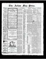 Acton Free Press (Acton, ON), July 12, 1923