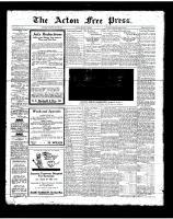 Acton Free Press (Acton, ON), July 26, 1923