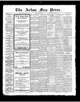Acton Free Press (Acton, ON), August 16, 1923