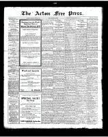 Acton Free Press (Acton, ON), August 23, 1923