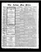 Acton Free Press (Acton, ON), September 27, 1923