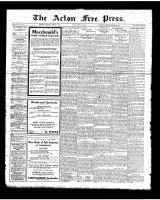 Acton Free Press (Acton, ON), October 4, 1923