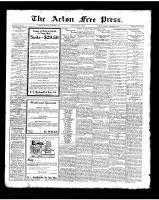 Acton Free Press (Acton, ON), November 8, 1923